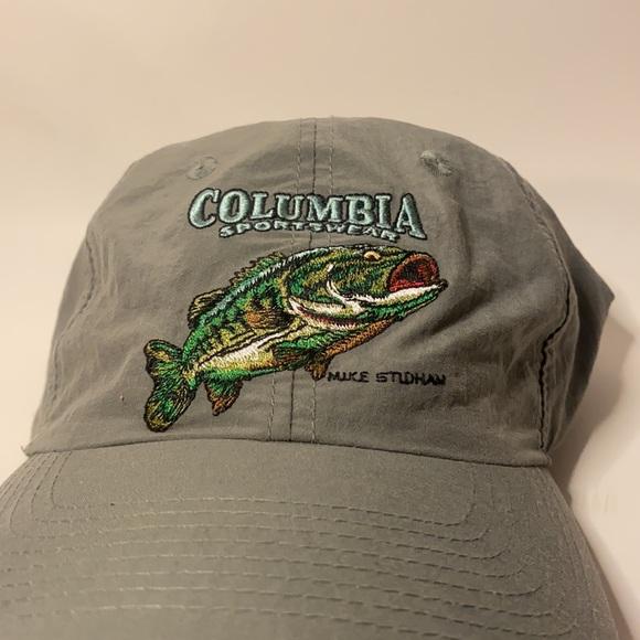 Vintage Columbia Fishing Bass Dad hat